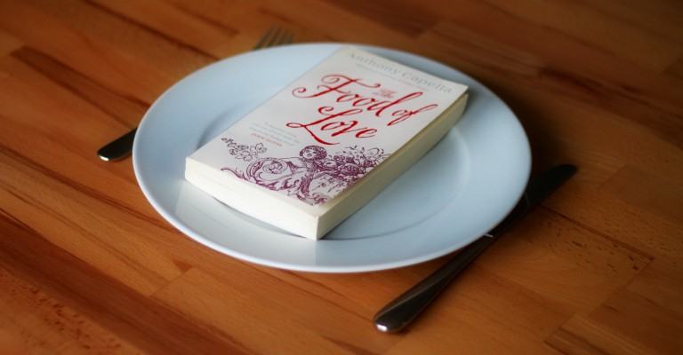Couverture de The Food of Love par Anthony Capella