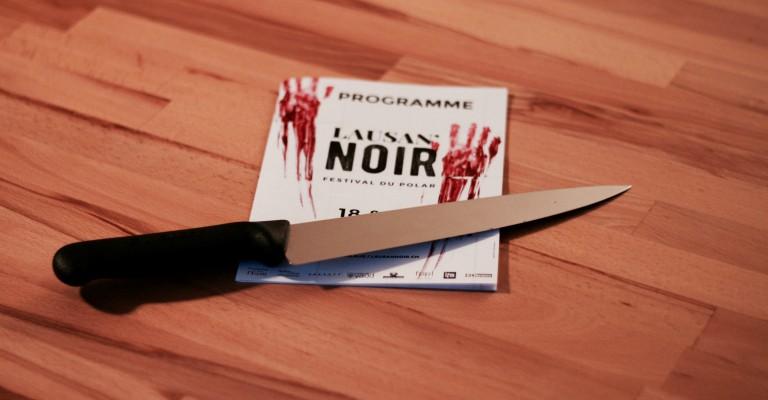 Programme du Festival Lausan'noir et couteau
