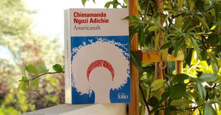 Couverture d'Americanah par Chimamanda Ngozi Adichie
