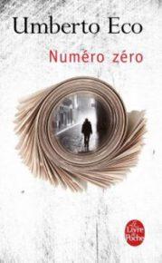 Couverture de Numéro Zéro par Umberto Eco