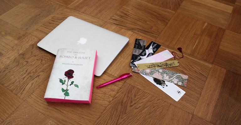 Outils de travail de la blogueuse