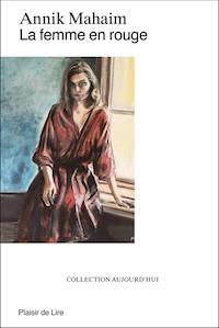 Couverture de La femme en rouge, par Annik Mahaim