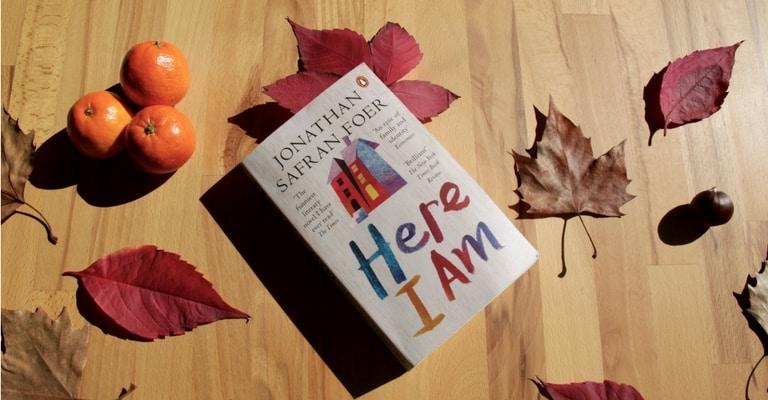 Couverture de Here I Am par Jonathan Safran Foer
